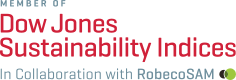 Logo from Dow Jones Sustainability Indices