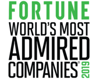 Logo from Fortune's 2019 World's Most Admired Companies