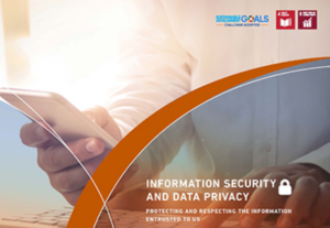 Information Security and Data Privacy