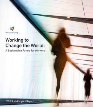 ManpowerGroup Social Impact Report 2020